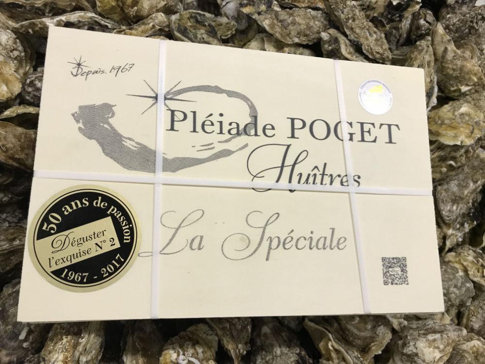 Huîtres Poget presse