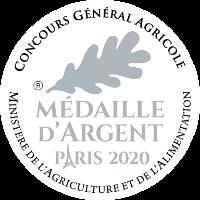 Médaille d'argent 2019 Concours générale agricole Huîtres Poget