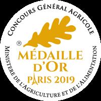 Médaille d'or 2019 Concours générale agricole Huîtres Poget